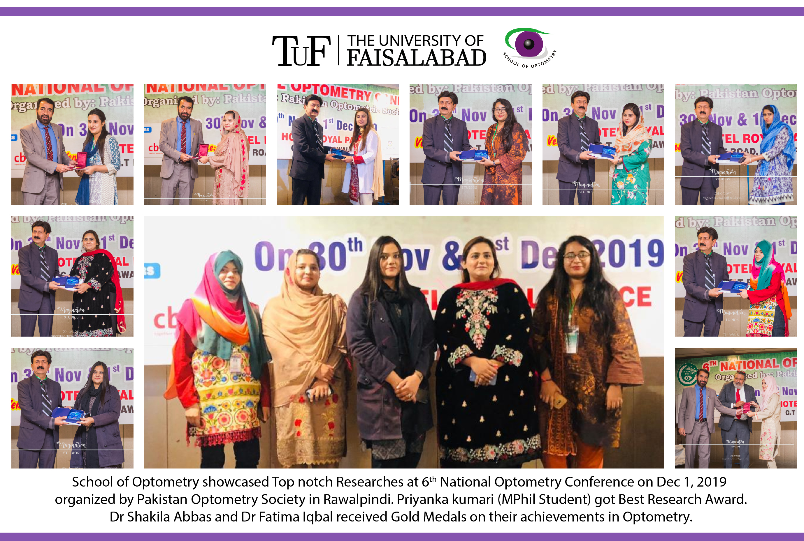 School of Optometry showcased Top Notch Researchs at 6th National Optometry Conference