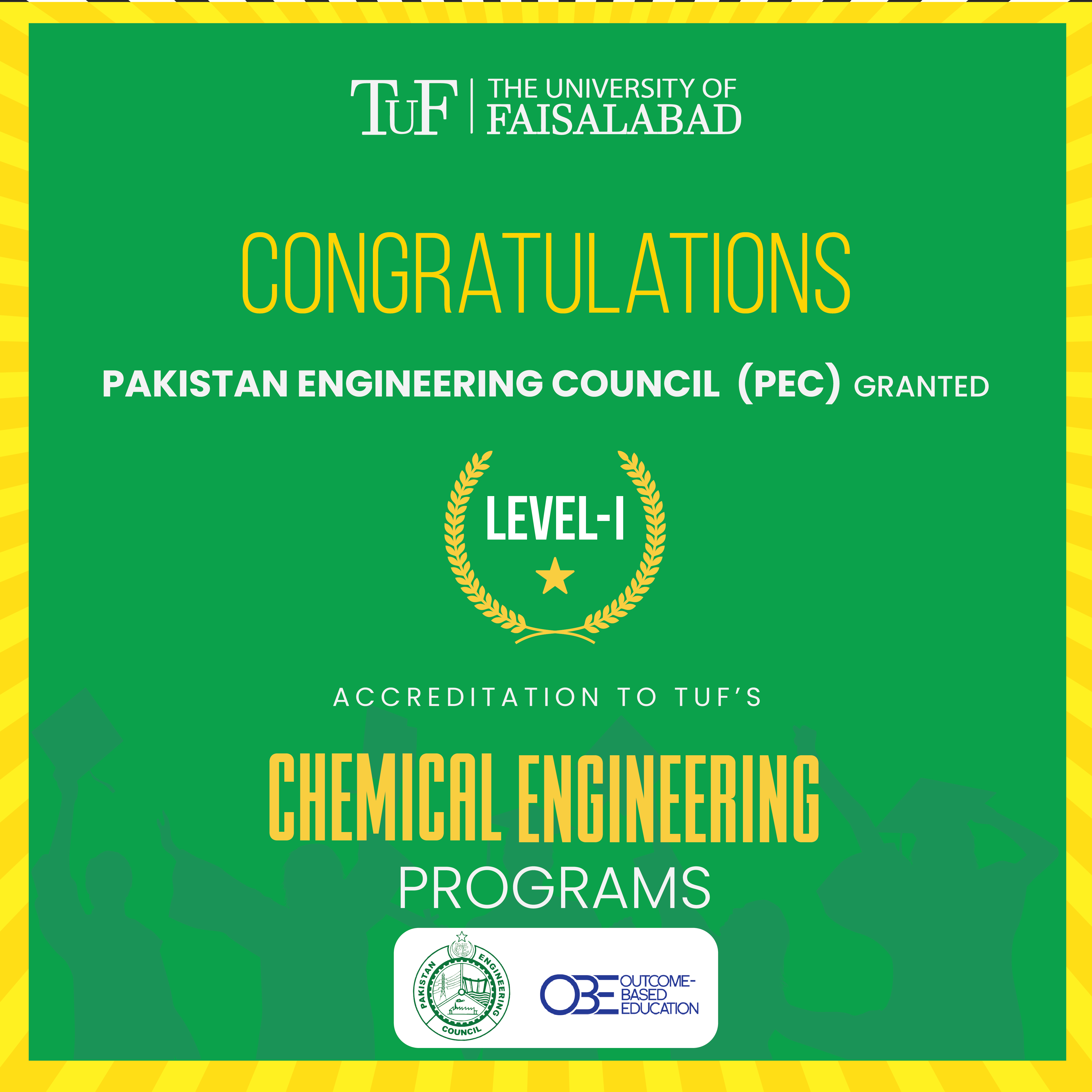 Accreditation of TUF's Chemical Engineering
