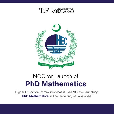NOC for Launch of PhD Mathematics